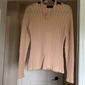 Pure Pink Cashmere Sweater